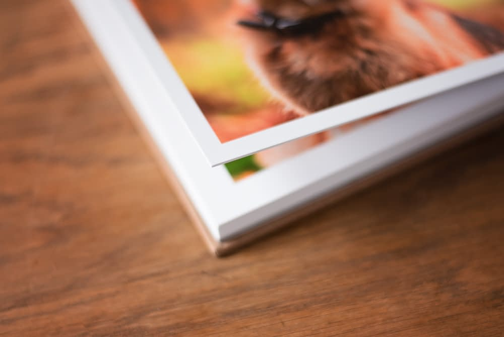 thick lay flat pages