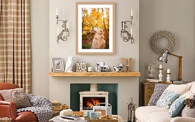 DISPLAYING YOUR ARTWORK IN YOUR HOME